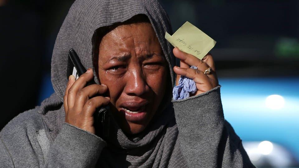 En el edificio vivían en su mayoría inmigrantes. Foto: AFP