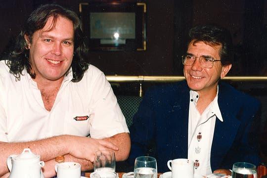 Aquí, junto con Gonzalo Bonadeo. Foto: Archivo