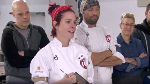 Camila Pérez, ganadora de la edición 2017 de Dueños de la cocina