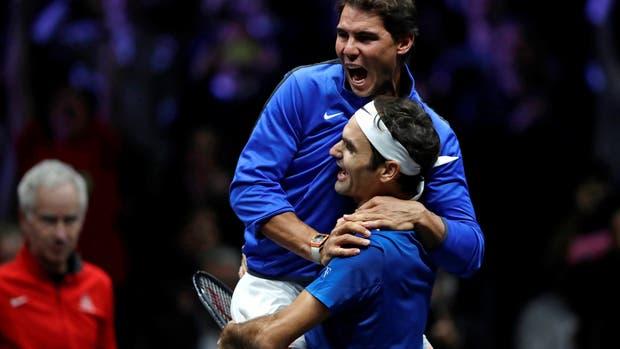 Roger federer, Rafael Nadal Laver cup