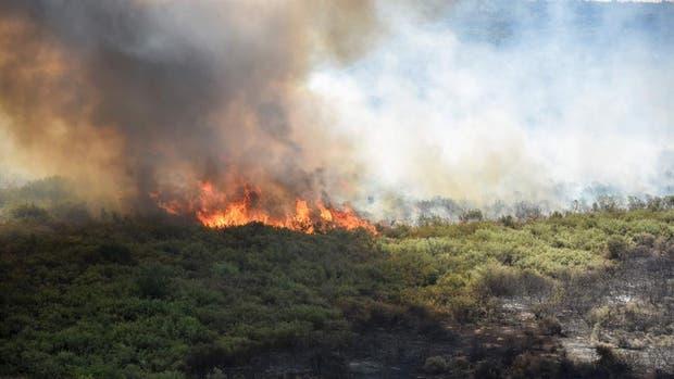 Se registraron nuevos focos de incendios en La Pampa