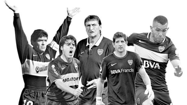 Todos contra Riquelme: Maradona, Cáceres, Falcioni, Orion y Tevez estuvieron cerca de Román y terminaron muy mal