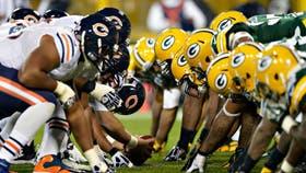 Transmitirán Chicago Bears-Green Bay Packers, uno de los clásicos que tiene la NFL