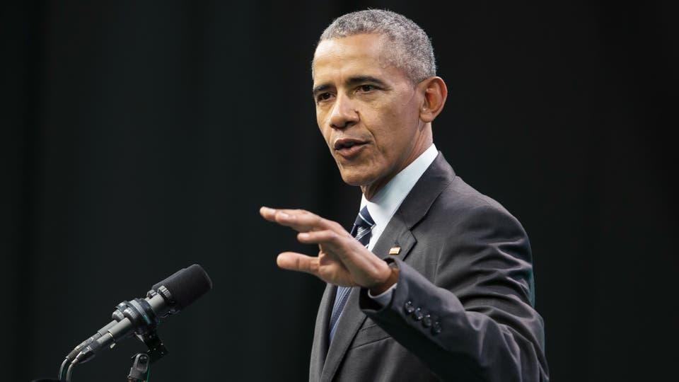 Barack Obama en la Cumbre de Economía Verde en Córdoba. Foto: AFP / Pablo Gasparini