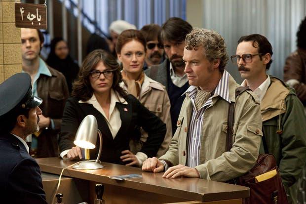 Una escena del multipremiado film de Ben Affleck, Argo