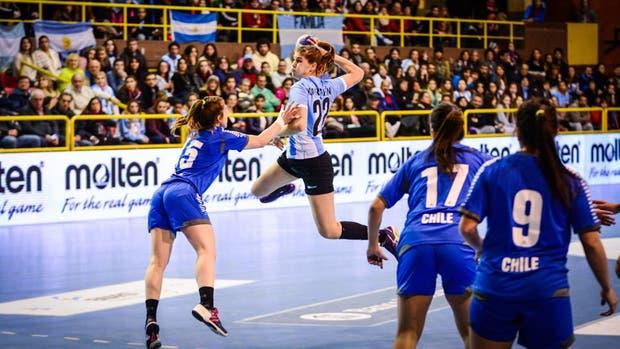 Elke Karsten fue la figura en el duelo ante Chile