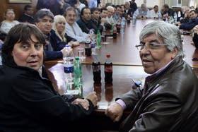 Moyano y Micheli se unen mañana para reclamar contra el Gobierno