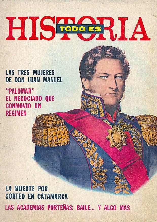 La primera edición de la revista, en mayo de 1967 / Gentileza Todo es Historia