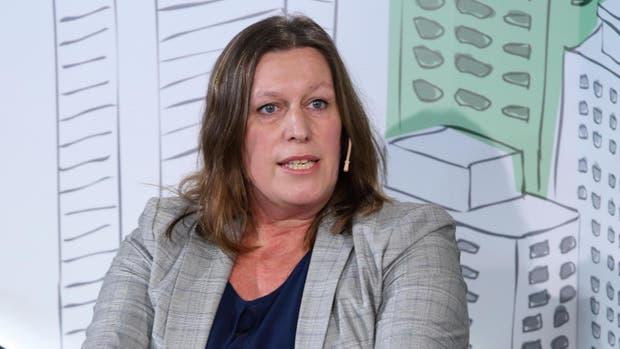Corinna De Barelli, gerente de Marketing de la fabricante alemana de placas de yeso Knauf