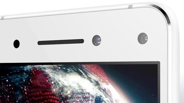 Las dos cámaras frontales del Lenovo Vibe S1