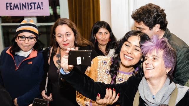 Encuentro con el grupo feminista chileno