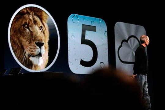 Mac OS Lion, iOS5 e iCloud, los anuncios confirmados de Apple en la conferencia mundial de desarrolladores. Foto: EFE