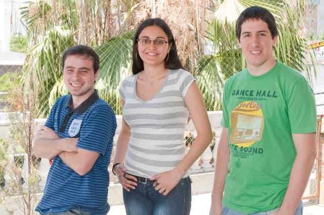 Demian Renzulli, Alejandra Negrete y Roberto Gluck, fundadores de The Social Radio