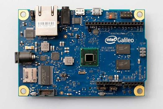 La Intel Galileo en detalle. Foto: Gentileza Intel