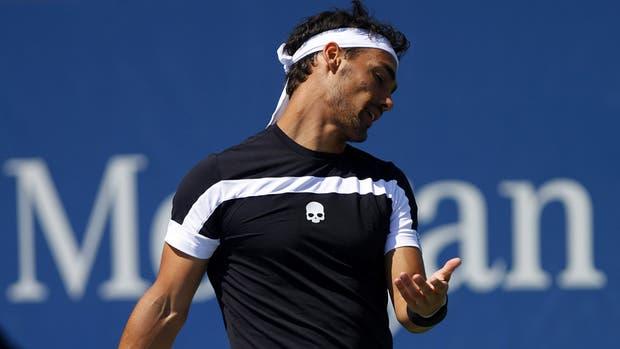 Fabio Fognini será sancionado por la ITF