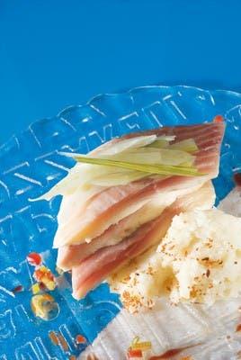 Receta de Atún con compota de cebollas