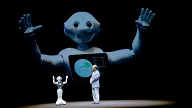 Pepper, el robot amigable de Softbank