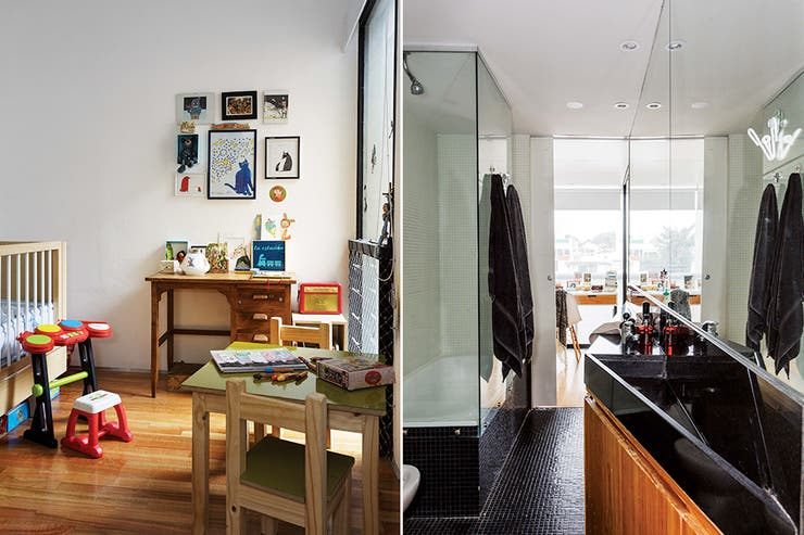 Entre colegas un edificio elegido como hogar por tres for Booh muebles