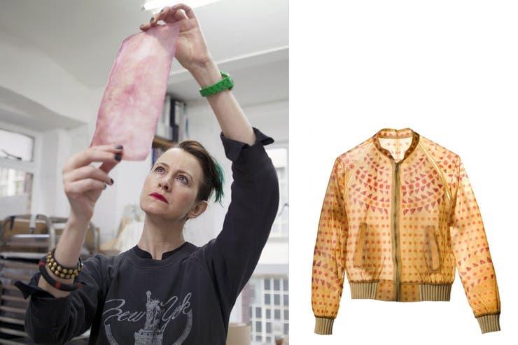Suzanne Lee es pionera en el cultivo de materiales para indumentaria y difundió los alcances a través de una célebre charla TED