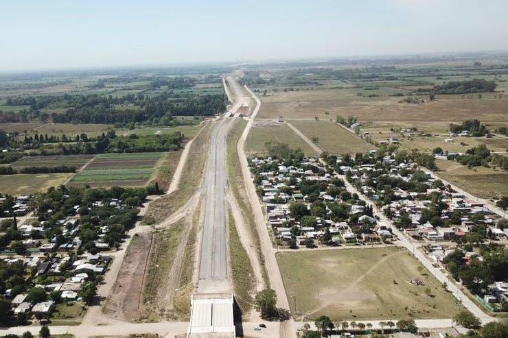 Avanzan las obras de extensión del camino del Buen Ayre