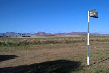 Dufaur está al sur del partido de Saavedra, en la provincia de Buenos Aires