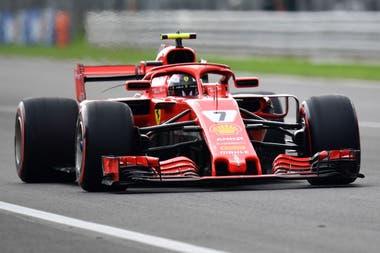 Kimi Raikkonen batió el récord en Monza