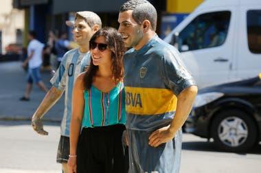 Un recorrido por el barrio de La Boca, que palpita la gran final de la Copa Libertadores.