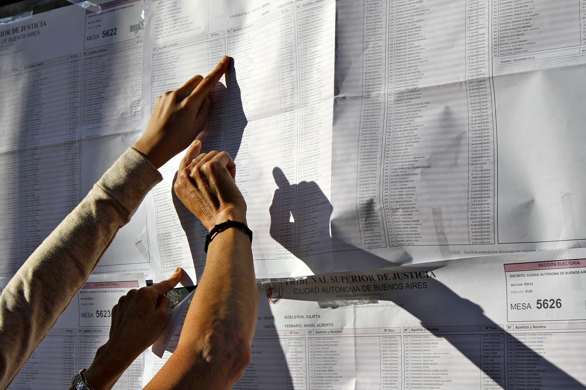 Dónde voto: consultá el padrón electoral 2019 para las elecciones PASO del 11 de agosto