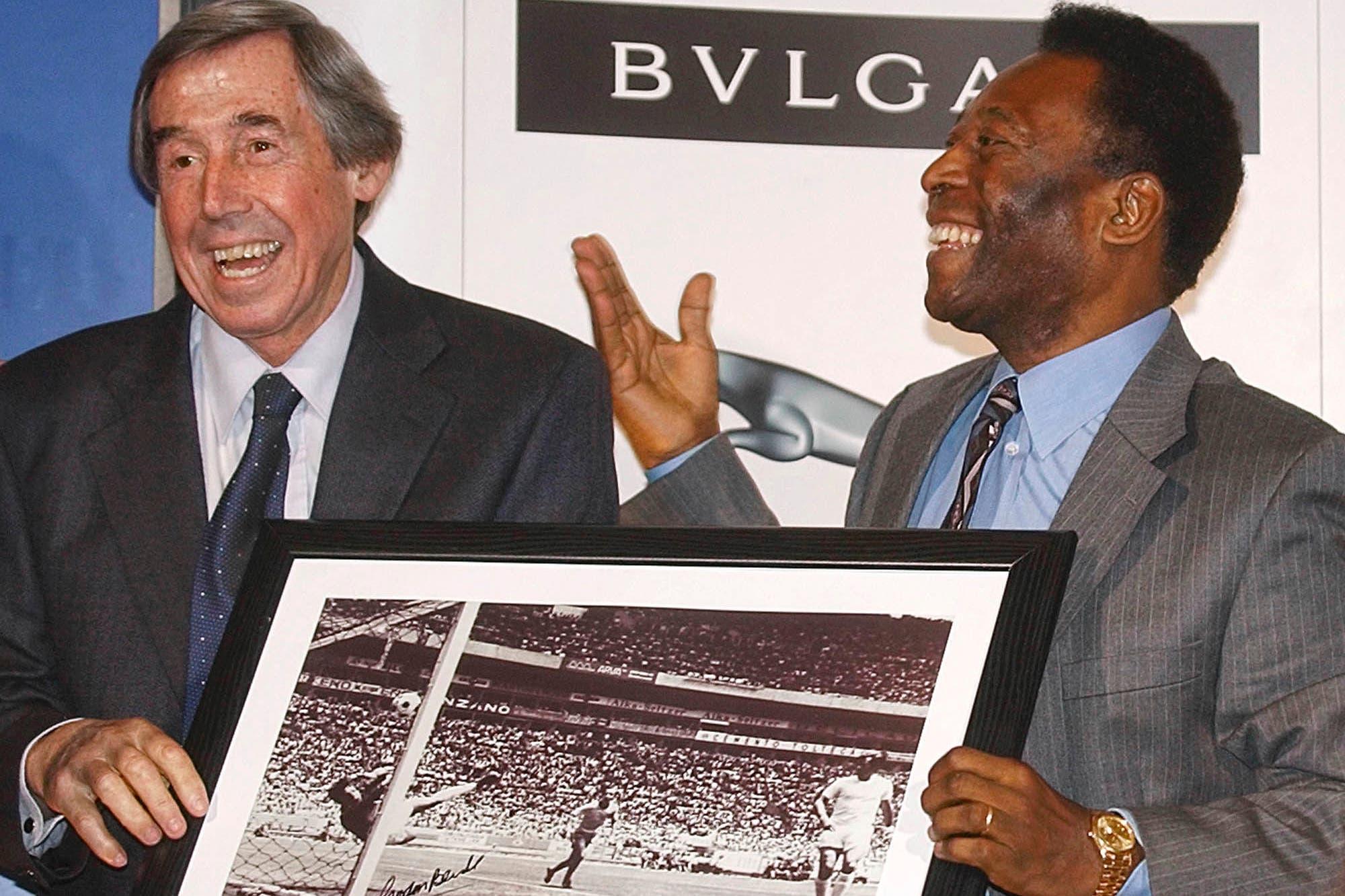 """Murió el inglés Gordon Banks, el autor de """"la atajada del siglo"""" ante Pelé en México '70"""