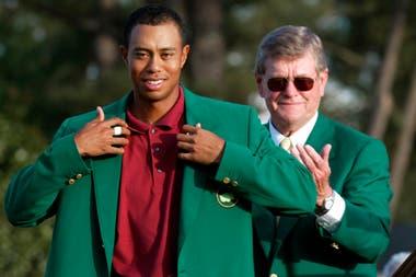 Woods campeón del Masters de Augusta de 2002