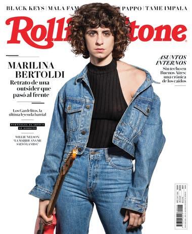 Marilina Bertoldi en la tapa de la edición de junio de Rolling Stone