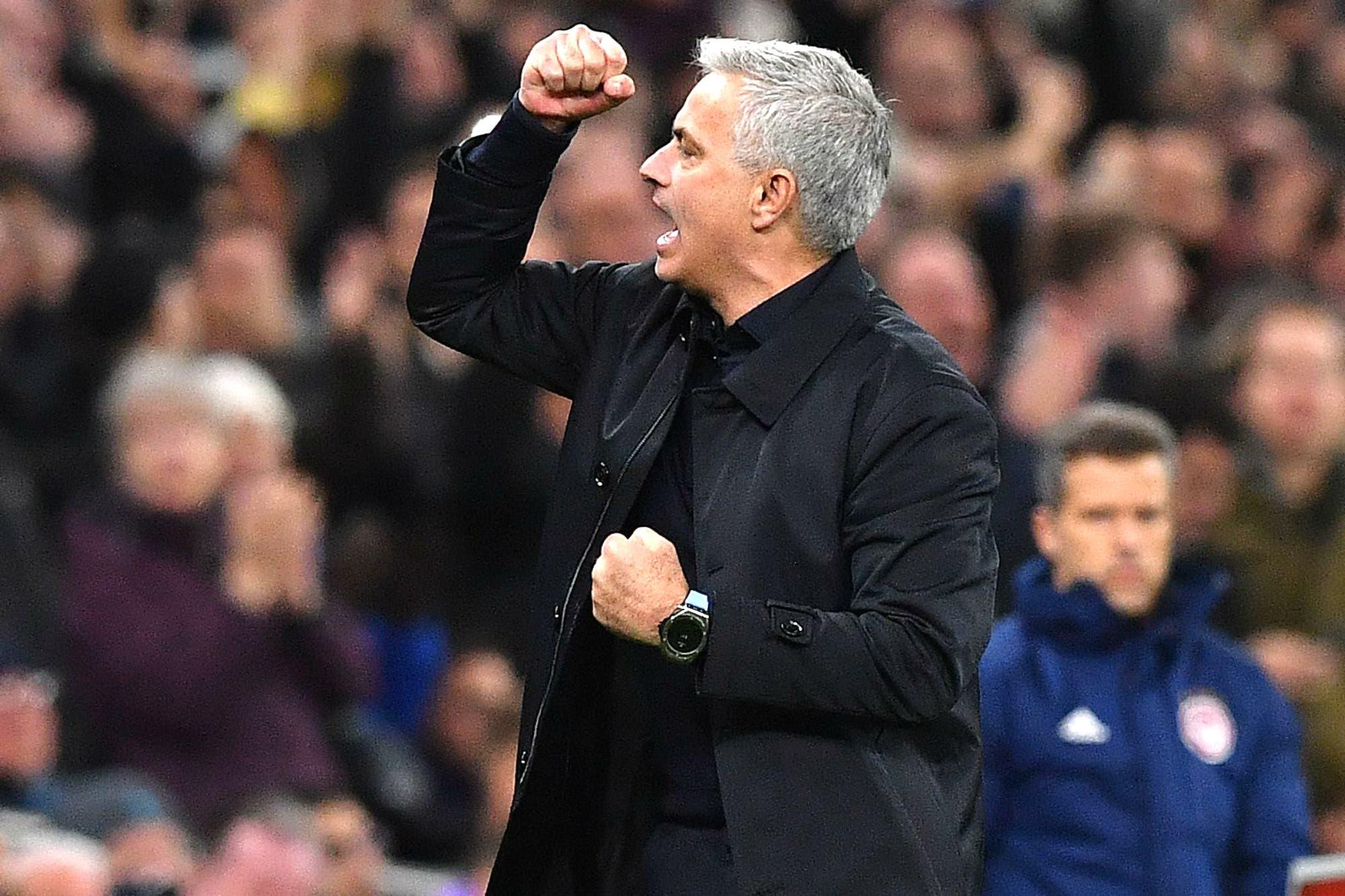 Tottenham Hotspur-Olympiacos, por la Champions League: Mourinho cambió a un equipo que perdía 2-0 y ganó 4-2