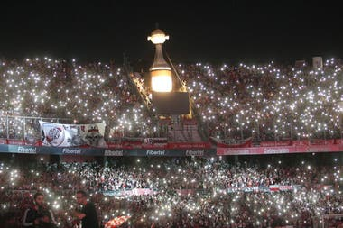 La Copa Libertadores en la tribuna: la invitada especial de la noche