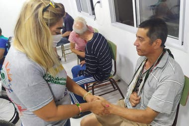 Atención sanitaria en la parroquia San José, de la Villa Puerta de Hierro, de La Matanza