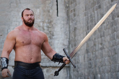 La Montaña de Game of Thrones rompe el récord mundial de peso ...
