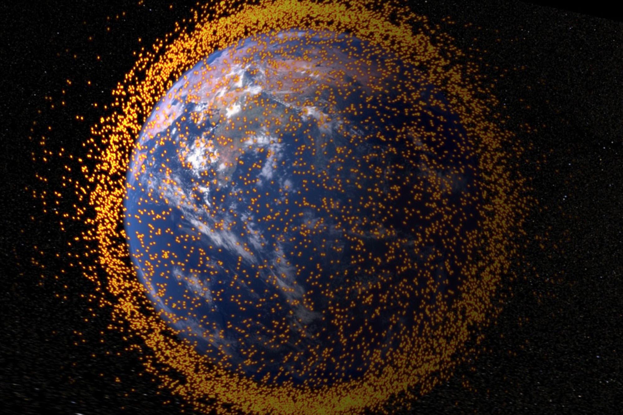 Congestión espacial: el desafío de regular el lanzamiento de miles de satélites