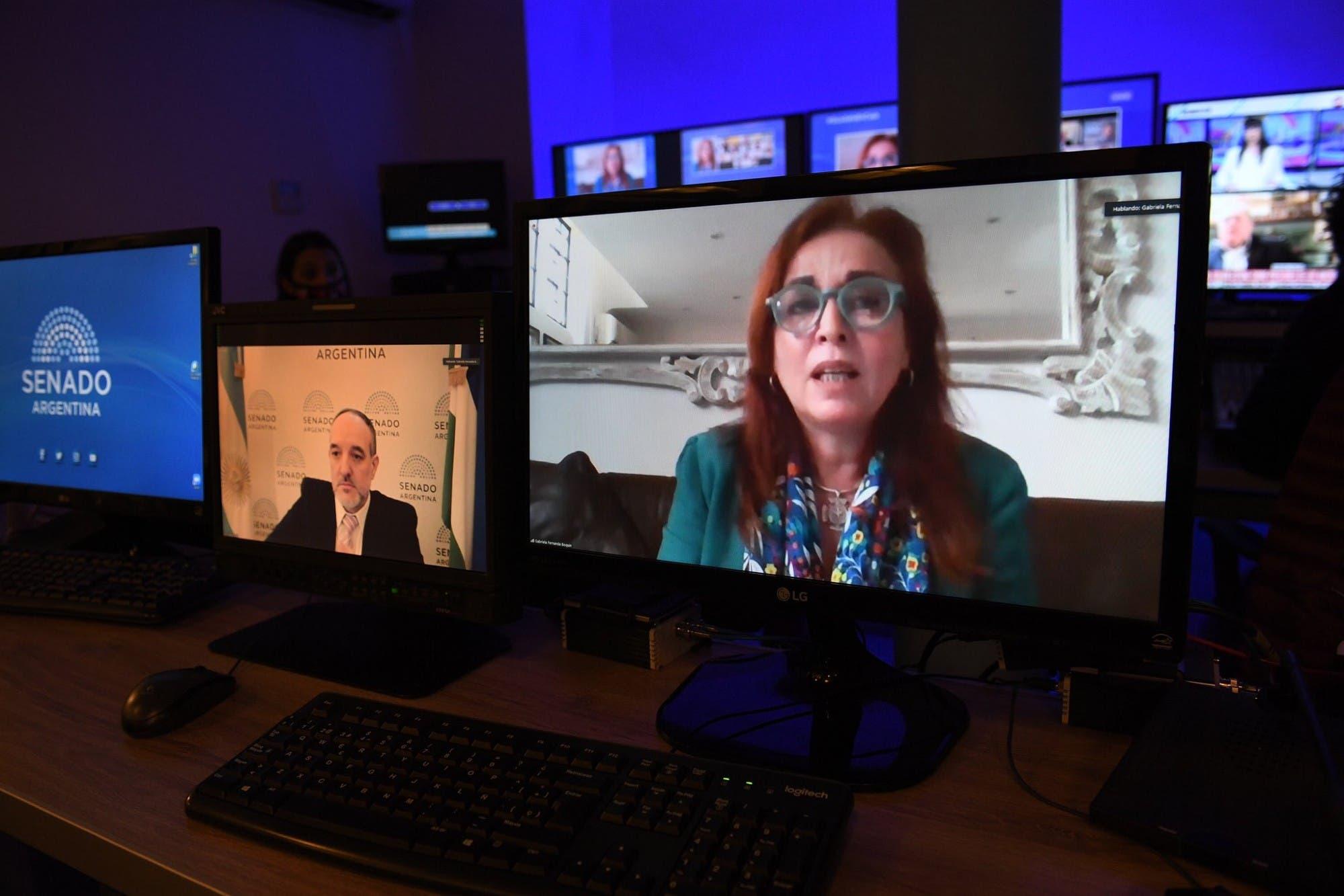 Duelo verbal con la oposición: la fiscal Gabriela Boquín acusó al procurador Eduardo Casal de perseguirla