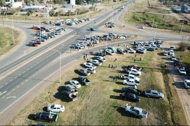 Las Breñas, Chaco, en el cruce de las rutas RN 89 y RP 6