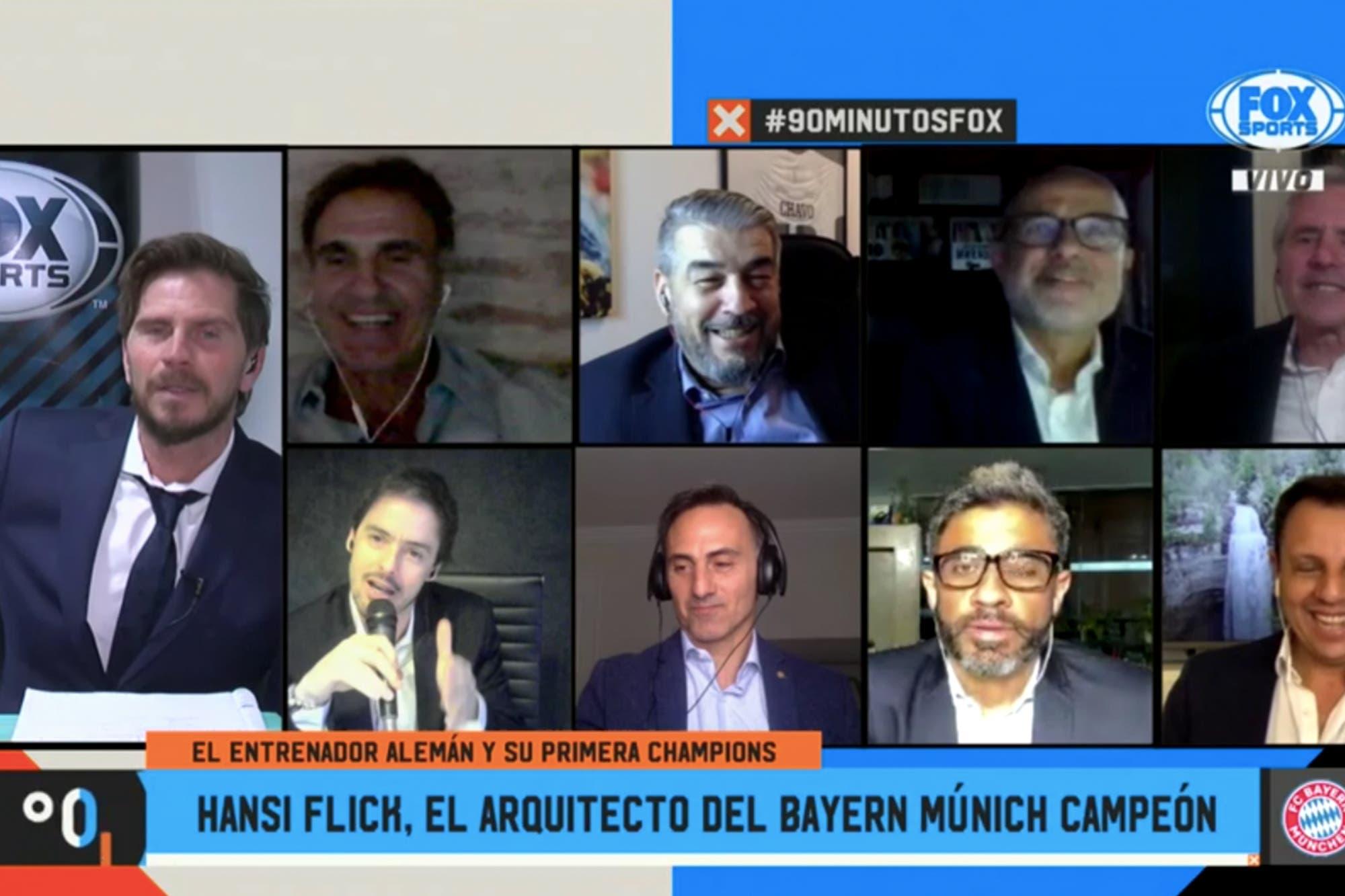 """""""Somos 90 Minutos"""": el reproche de Oscar Ruggeri a Mariano Closs por su furcio en la transmisión"""