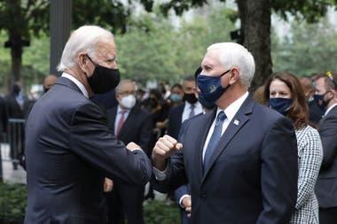 Joe Biden y Mike Pence