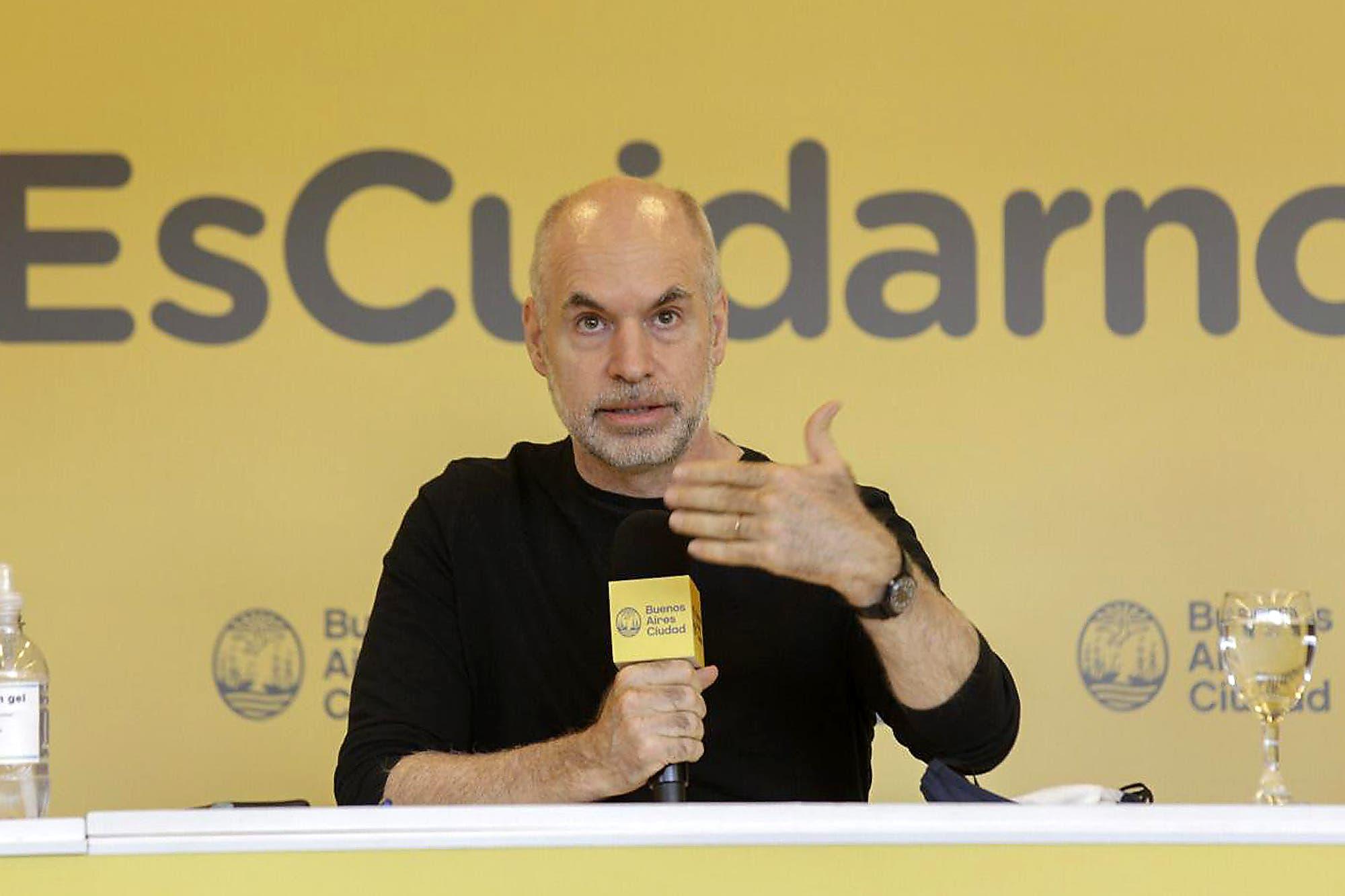 """Horacio Rodríguez Larreta: """"Solo vamos a poder mantener lo que logramos si seguimos con la misma responsabilidad"""""""