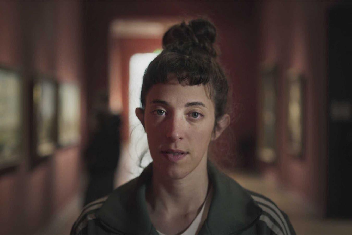 Denise Groesman, en la película Ficción privada.