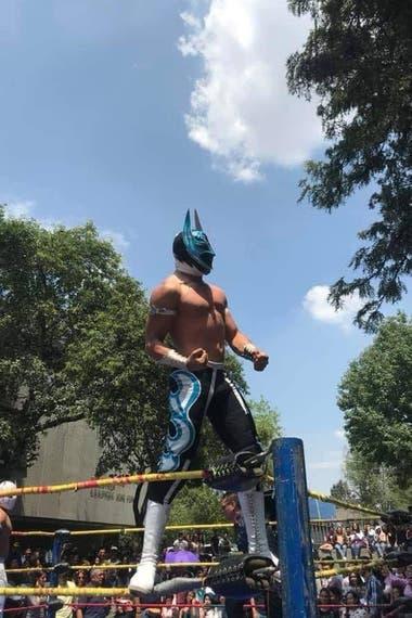 """""""El Príncipe Aéreo"""" murió a sus 26 años durante una función de lucha libre en el Estado de México"""