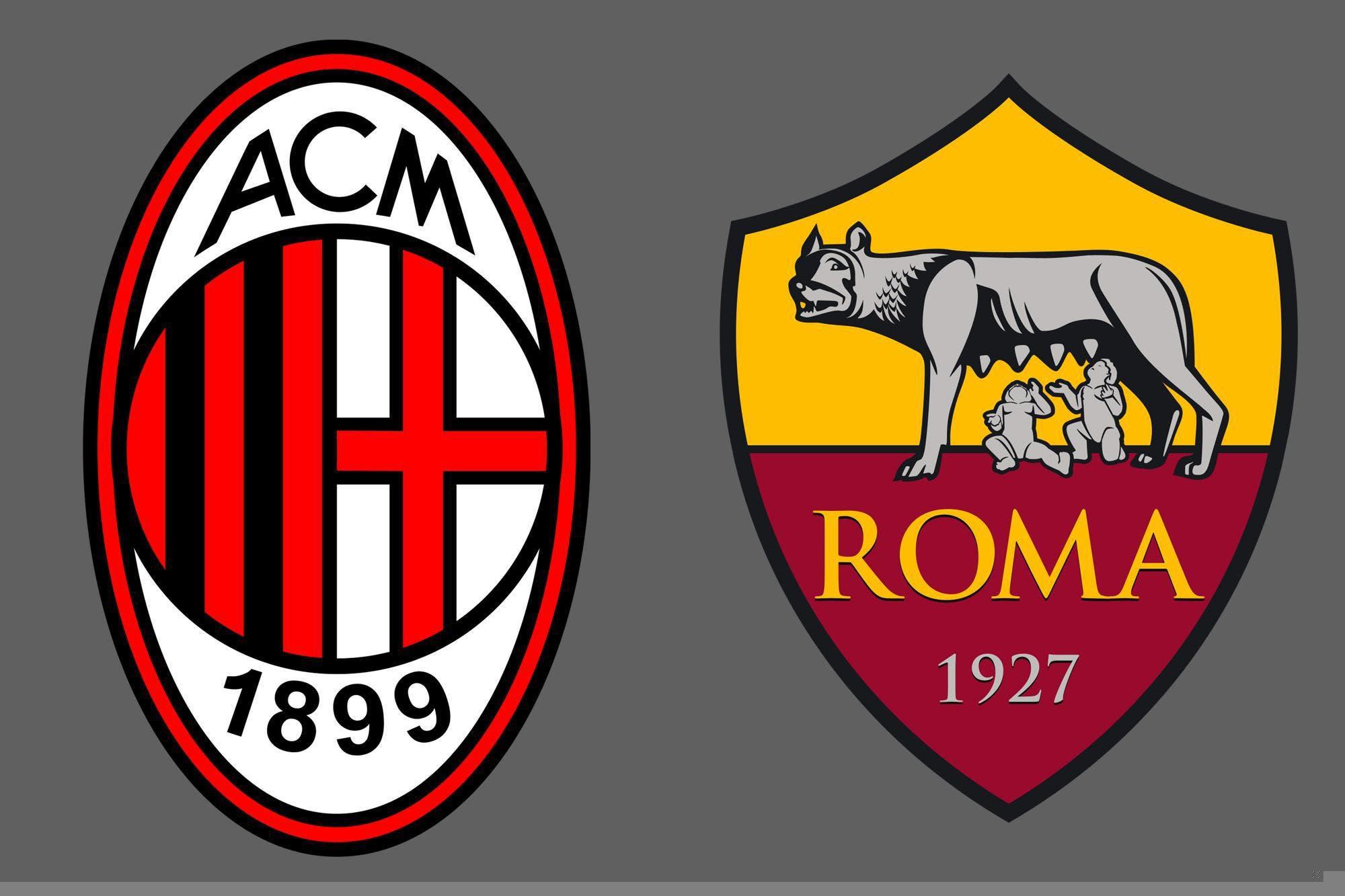 Serie A de Italia: Milan y Roma empataron 3-3
