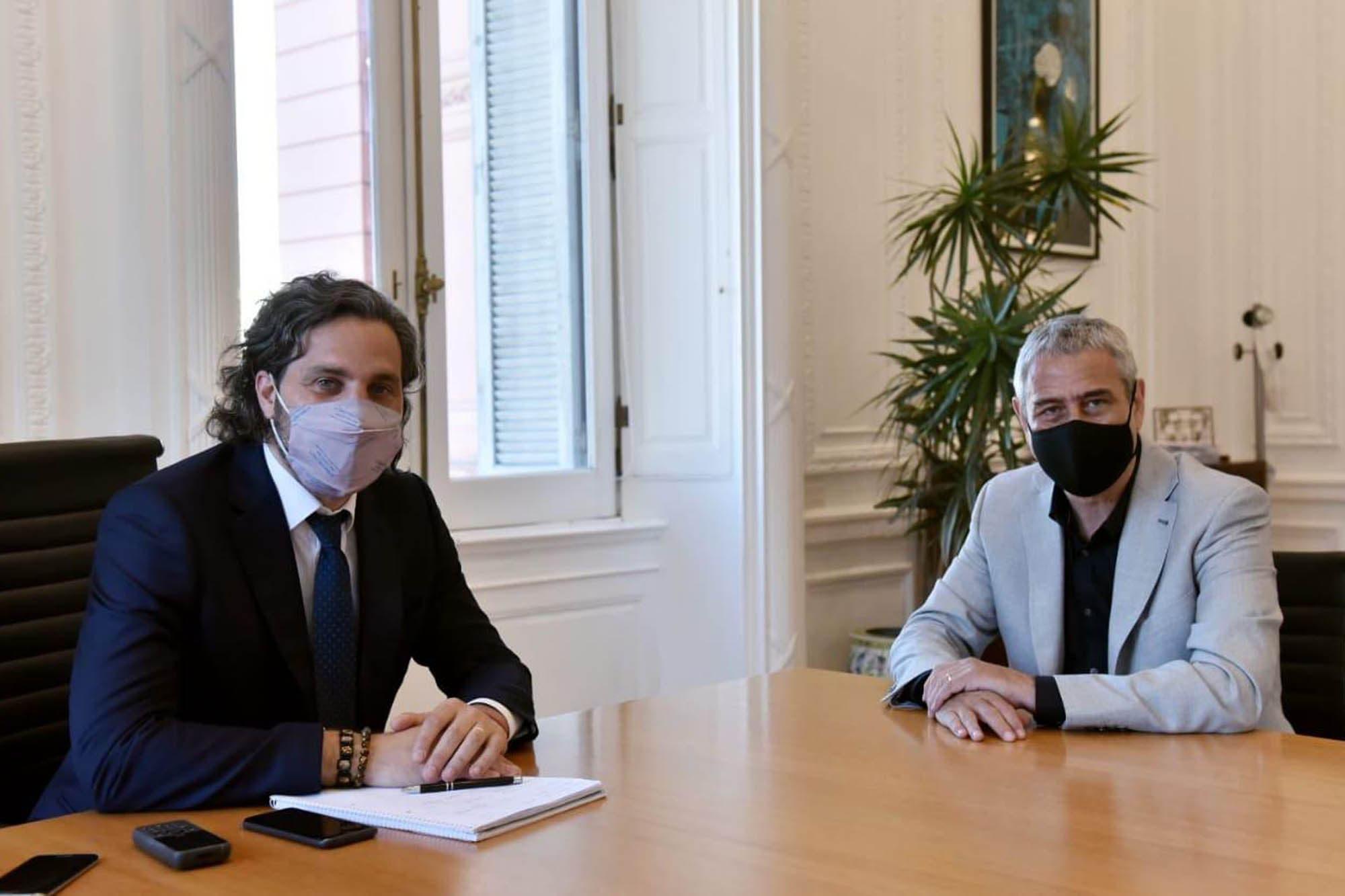 """Recorte de fondos. Jorge Ferraresi redobla la apuesta y dice que la Ciudad debe """"devolver"""" 120.000 millones"""