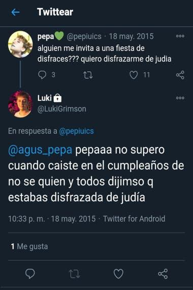 """Se conocieron tuits xenófobos y machistas de Lucas Grimson, el empleado público que dijo """"les pibis"""" en una conferencia de prensa"""