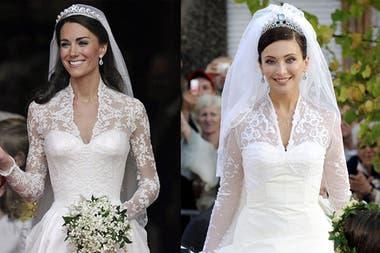 Kate Middleton Copió Su Vestido De Novia La Nacion