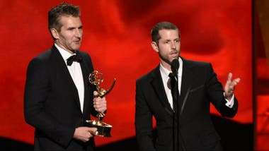 Los guionistas de Game of Thrones, felices con el Emmy