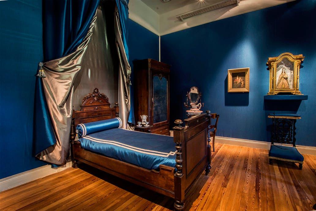 El cuarto de Mariquita Sánchez de Thompson, quien fuera propietaria de la casa
