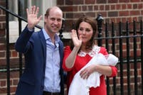 En fotos: nació el tercer hijo del príncipe William y Kate Middleton